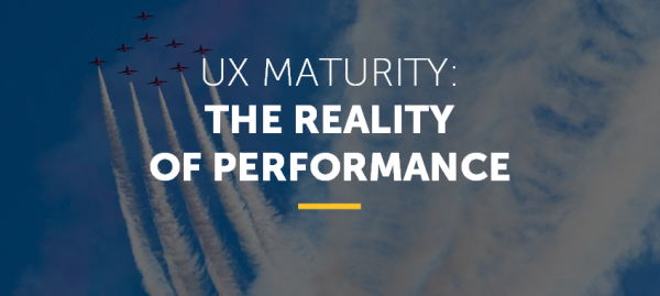 UX Maturity
