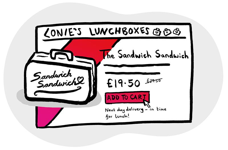 Lonie's lunchbox