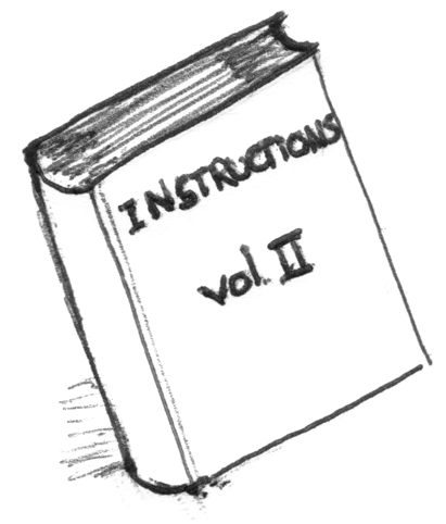 instructions book