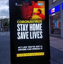 Coronavirus - Stay home, save lives
