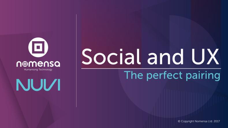 Social and UX