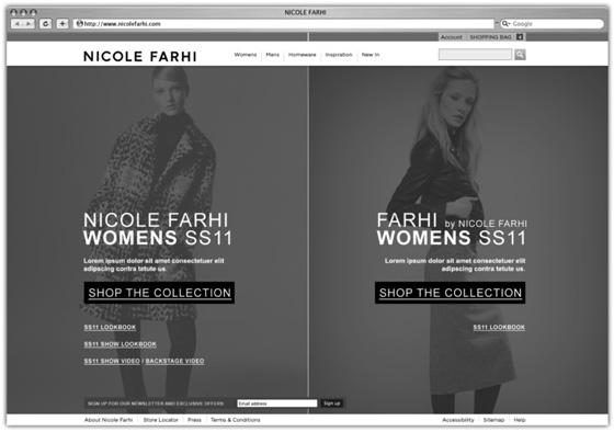Nicole Farhi lo-fi