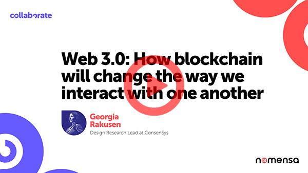 Watch Georgia's talk from Collaborate Bristol