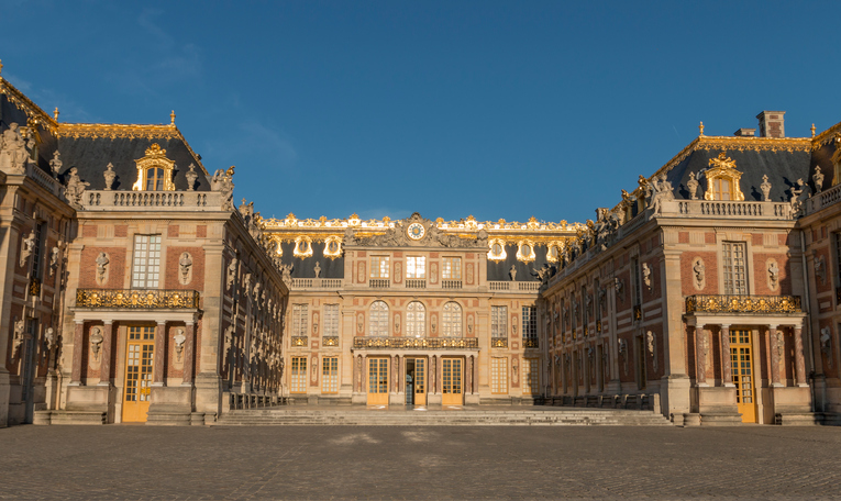 Picture of a French chateau