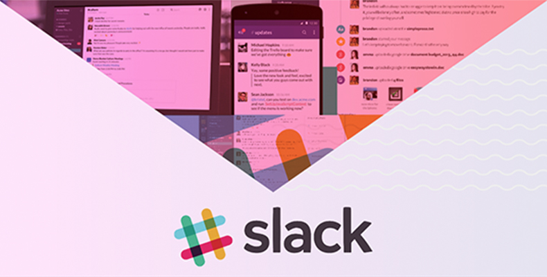 Screengrab of Slack software