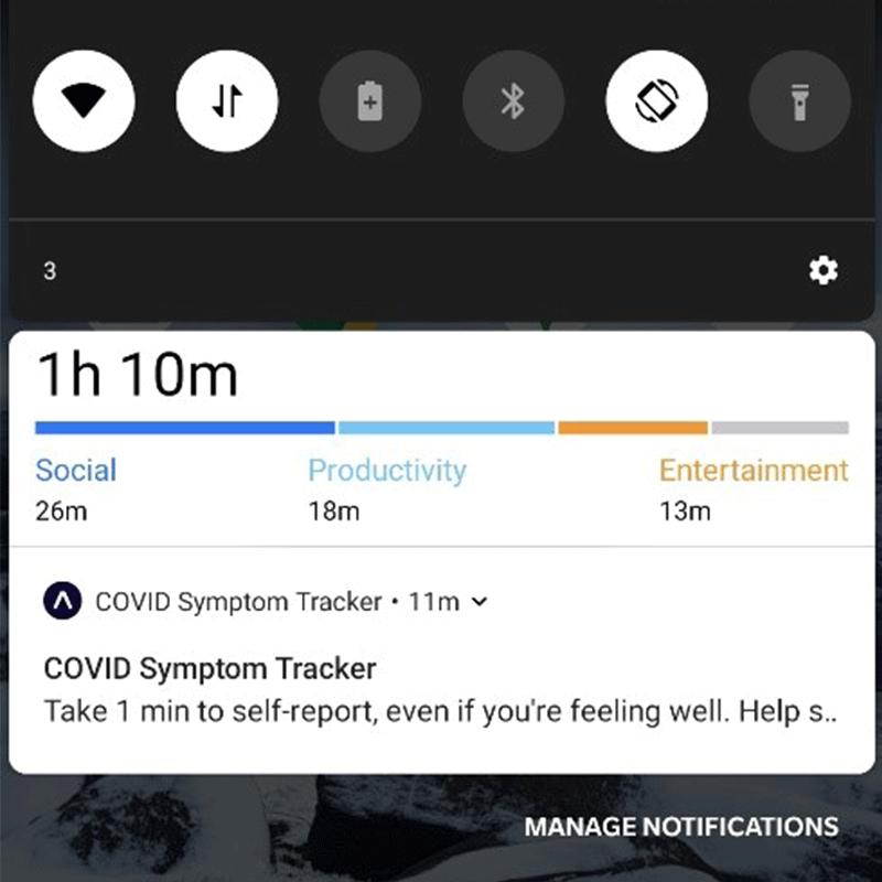 COVID-19 sympton tracker